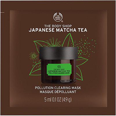 The Body ShopTravel Size Recipes of Nature Japanese Matcha Tea Mask