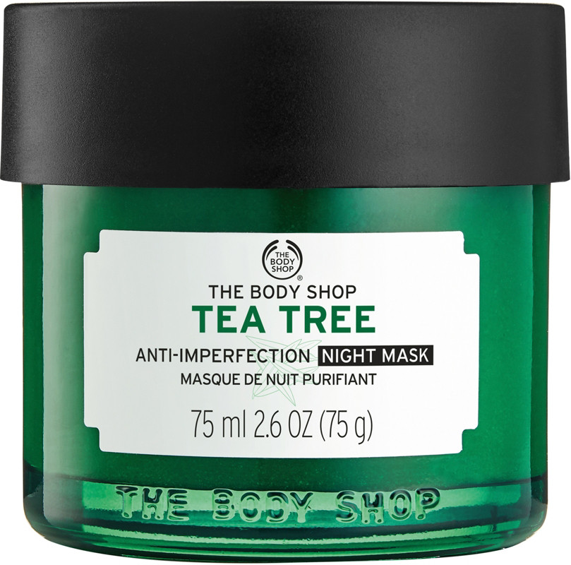 Tea tree oil on face overnight