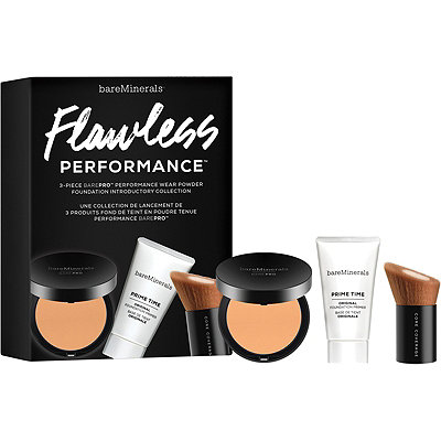 BareMinerals Flawless Performance 3 Pc barePro Introductory Collection