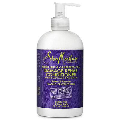 SheaMoistureKukui Nut %26 Grapeseed Oils Damage Rehab Conditioner