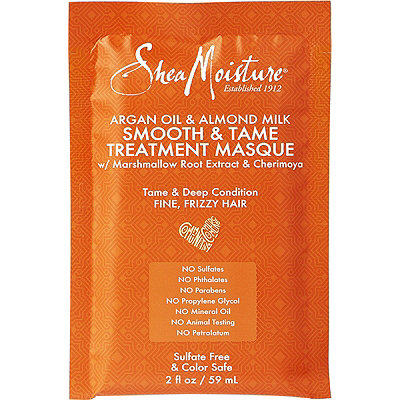 SheaMoistureArgan Oil & Almond Milk Smooth & Tame Treatment Masque Packet