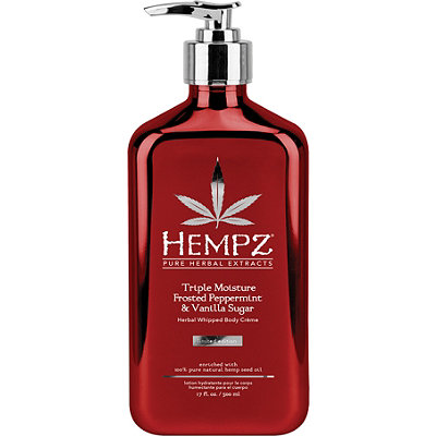 Hempz Frosted Peppermint %26 Vanilla Sugar Herbal Whipped Body Cr%C3%A8me
