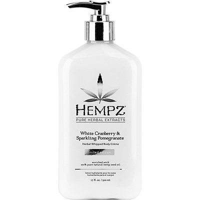 Hempz White Cranberry %26 Sparkling Pomegranate Herbal Whipped Body Cr%C3%A8me