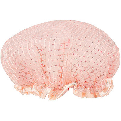 The Vintage Cosmetic Company Peach Shower Cap