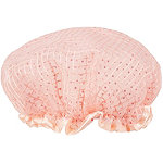 Peach Shower Cap