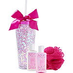 Candied Cranberry Tumbler Bath Set