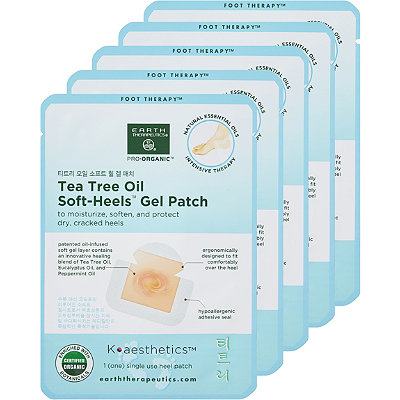 Earth Therapeutics Tea Tree Oil Soft-Heels Gel Patch