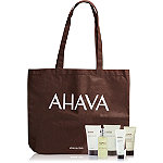 Online Only FREE 5pc Gift with Tote w%2F any %2450 Ahava purchase
