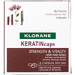 Klorane KERATINcaps Hair and Nails Dietary Supplements 60 ct