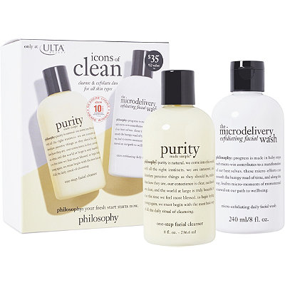 Philosophy Icons of Clean Cleanse %26 Exfoliate Duo