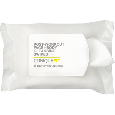 CliniqueCliniqueFIT Post-Workout Face + Body Cleansing Swipes