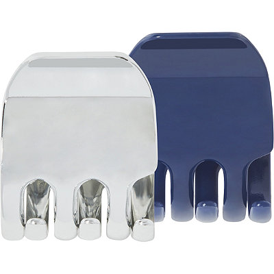 ScünciClassic Jaw Clips in Blue %26 Silver
