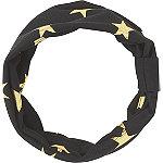 Black Headwrap w%2F Gold Stars