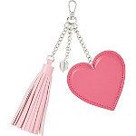 Heart of Courage Tassel Keychain