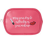 Kisses %26 Confidence Travel Cosmetic Bag