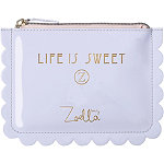Online Only Life is Sweet Cosmetic Bag