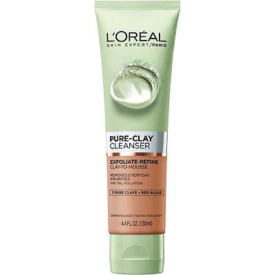 L'OréalPure Clay Cleanser Exfoliate %26 Refine