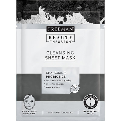 Charcoal & Probiotics Sheet Mask