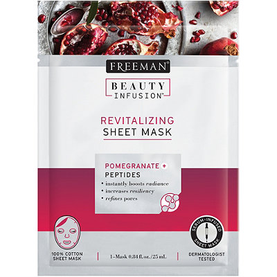 Beauty Infusion Pomegranate Revitalizing Sheet Mask
