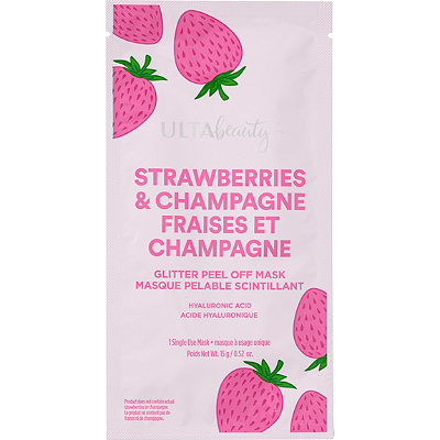 ULTAStrawberries and Champagne Hydrating Glitter Peel Off Mask