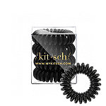 Kitsch Black Hair Coils 4 Pc