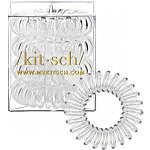 Kitsch Clear Hair Tie Bobble 4 Ct