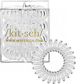 Kitsch Clear Hair Tie Bobble 4 Ct  61a6f5cd687