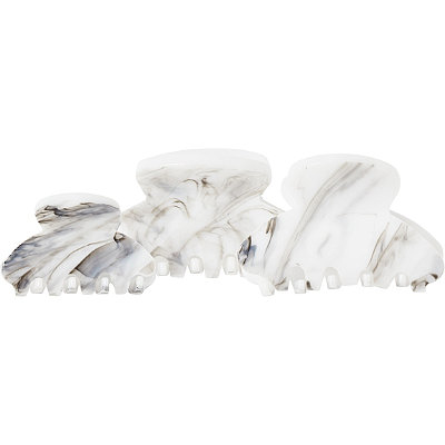 KitschMarble Round Claw Clips