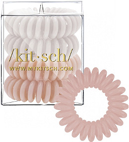 Kitsch Nude Hair Tie Bobble 4 Pc  01905469ebc