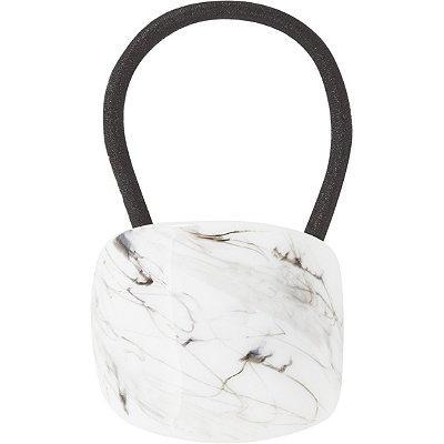 KitschMarble Ponytail Holder