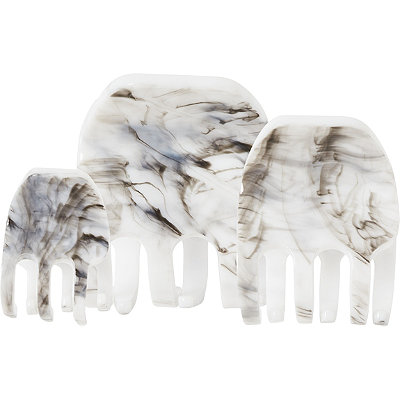 KitschMarble Square Claw Clips