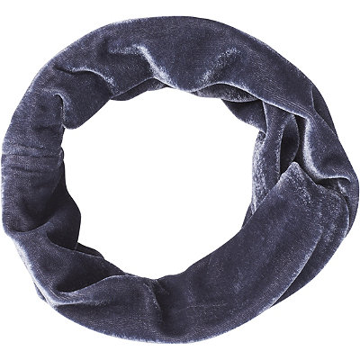 Kitsch Charcoal Velvet Fabric Headband