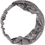 Silver Metallic Fabric Headband