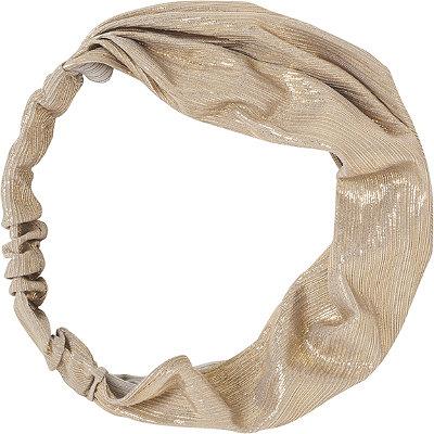 KitschGold Metallic Fabric Headband