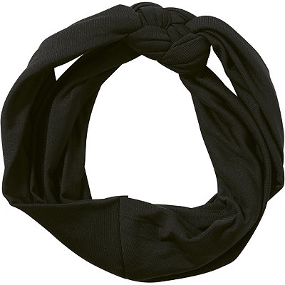 KitschBlack Knit Fabric Headband