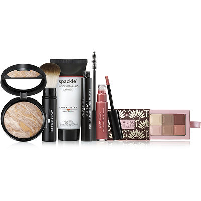 Laura Geller Naturally Glam 6 Pc Full Size Collection