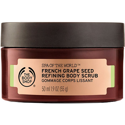 Online Only Spa Of The World French Grape Seed Scrub