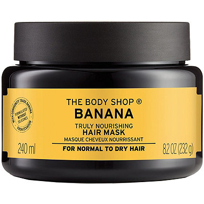 The Body ShopOnline Only Banana Truly Nourishing Hair Mask