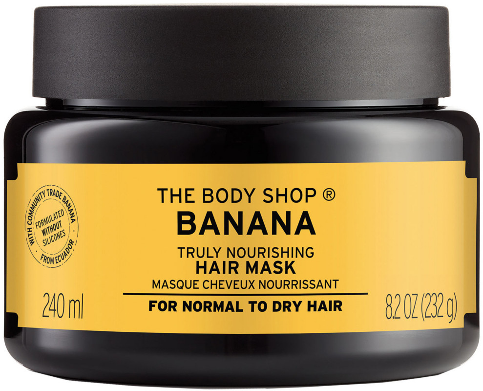 The Body Shop Online Only Banana Truly Nourishing Hair Mask Ulta