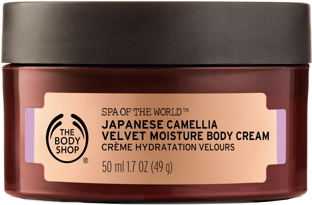 The Body Shop Online Only Spa Of The World Japanese Camellia Cream