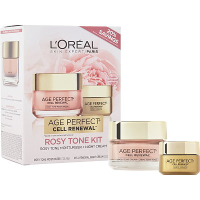 L'Oréal Online Only Age Perfect Rosy Renewal Kit