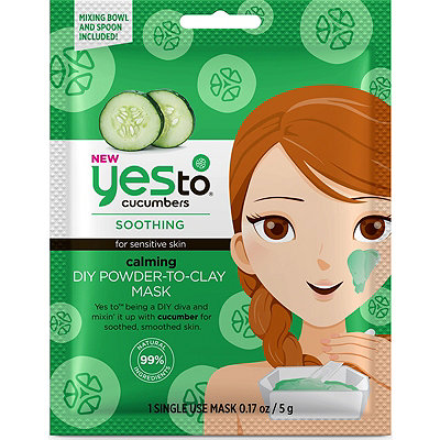 Yes toCucumbers Calming DIY Powder-To-Clay Mask