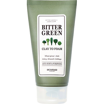 Bitter Green Clay To Foam