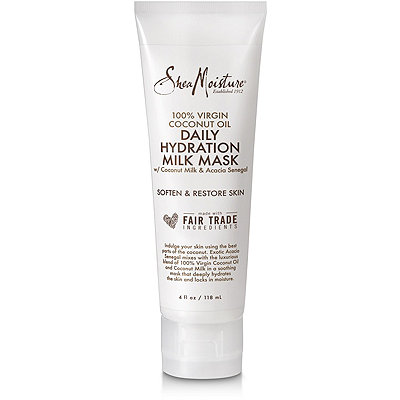 SheaMoisture 100%25 Virgin Coconut Oil Daily Hydration Milk Mask