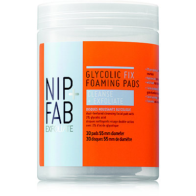 Nip + FabGlycolic Fix Foaming Pads