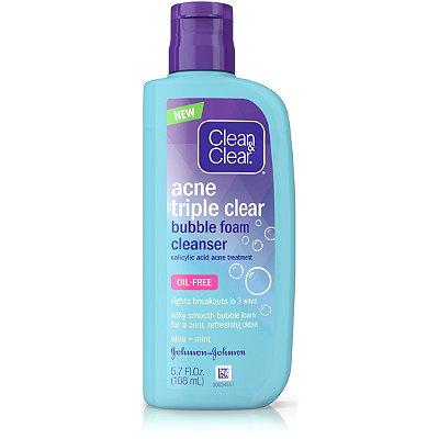 Clean & ClearTriple Cleanse Bubble Foam Cleanser