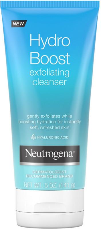 Neutrogena Hydro Boost Exfoliating Cleanser Ulta Beauty