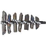 Grey Rock Styled Bobby Pin w%2F Rhinestones