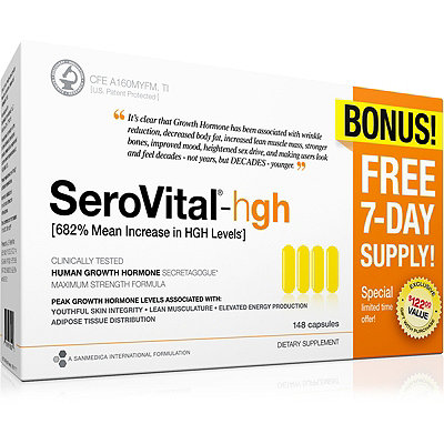SeroVitalLimited Edition hgh Dietary Supplement Bonus Pack