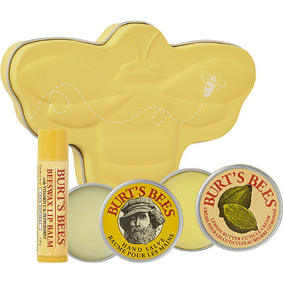 Burt's BeesOnline Only Classic Bee Tin Holiday Gift Set